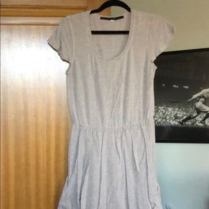 Taupe Pocketed Dress